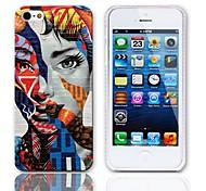 Disegno speciale del modello della donna Hard Case con 3 Paia protezioni per iPhone 5/5S