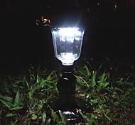 antica luce solare prato con 12 led