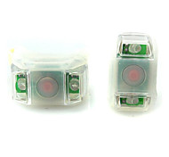 Bike Light , Rear Bike Light / Bike Lights - 3 Mode Lumens Waterproof Cell Batteries Battery Cycling/Bike White Bike Others