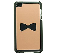 Flash Design Bowknot Pattern Hard Case for iPod touch 4