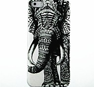 Elephants Pattern Hard Case for iPhone 4/4s