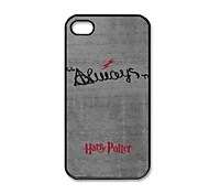 Harry Potter modello Custodia Cover in plastica dura per iPhone 4/4S