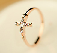 Simple Cross Ring(Size 7)