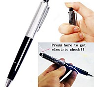 2in1 Shock-You-Friend Electric Shock&Writing Ball Pen Practical Joke Gadgets
