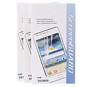 3Pcs Anti-Scratch&Dustproof Hyper-98% Transparency Screen Protector for Samsung Galaxy S5 I9600