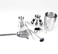 Set 5 Edelstahl Cocktails Shaker