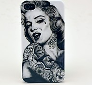 Patrón Tattoo Girl duro caso para iPhone 4/4S