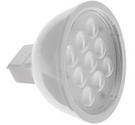 Lâmpada de Foco GU5.3 4 W 300 LM 3000 K Branco Quente 9 SMD 2835 DC 12 V