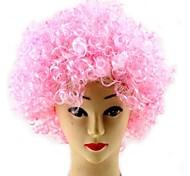 Copa Mundial de la fiesta de Halloween cosplay Navidad Afro Payaso pelucas