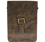 7 Inch Solid Color PU Leather Tablet PC Bag (Brown)