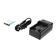 ismartdigi-Nik EN-EL10 750mah,3.7V Camera Battery+Car charger for NIKON S3000 S200 S500 S700 S5100 S4000