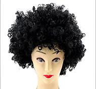 Copa Mundial de la fiesta de Halloween del Afro Navidad cosplay rizada Pelucas del payaso