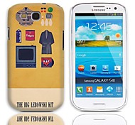 The Big Lebowski Kit Pattern Hard Case with 3-Pack Screen Protectors for Samsung Galaxy S3 I9300