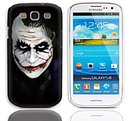 JOKER Design Hard Case with 3-Pack Screen Protectors for Samsung Galaxy S3 I9300