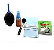 G-300 6-in-1 Lens Cleaning Brush+ Cloth+Stick+ Air-Blower +Swab+Paper Tools Kit  for  Camera