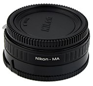 Nikon-MA Nikon Lens to Sony SLR Carema Adapter Ring equipped with corrective glass / Infinity Focus