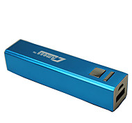 2600mAh Square Column Lipstick Feature Power Band(Blue)