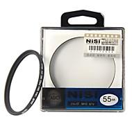 NISI 55mm MC UV Violet Protector Ultra-delgada Filtro lente recubrimiento multicapa de doble cara Ultra para Nikon Canon Sony Cámaras