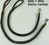 Hand-Woven Leather Dog Leash for Pets Dogs