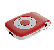 TF Card Reader Portable Digital MP3 Player with Clip