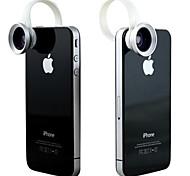2 en 1 universal C Estilo clip 0.67X Gran Angular Add-On Lentes con Macro para iPhone / Celulares