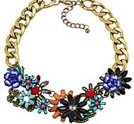 Z&X®  Classic  (Flower) As Picture Alloy Pendant Necklace (1 Pc)