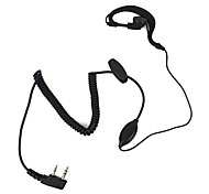 2 PIN oortelefoon microfoon voor Kenwood Radio KPG69D TH-22A VL130 Walkie talkie walkie talkie