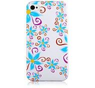 Morning Glory Padrão Soft Case de silicone para iPhone5/5S
