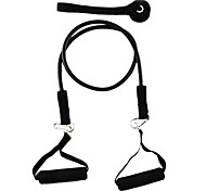 Latex Fitness Exercise Stretch Pull Rope - Black