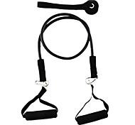 Látex de Fitness exercício do estiramento Pull Rope - Preto