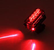 Laser vélo CoolChange LED en plastique de lumière de queue