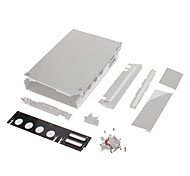 Replacement Console Case with Replacement Kit for Wii U(White Color)