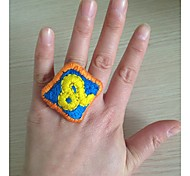 New Style Classic Leo Hand Embroidery Alloy Women's Ring(1 Pc)