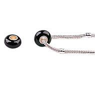 Black Art Grass Acrylic Big Hole DIY Beads for Necklace or Bracelet