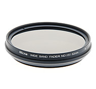 Nicna ND2~ND400 Premium Digital Fader ND Filter(62mm)