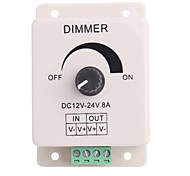Led Knob-Operated Control Dimmer  Adjustable Brightness Controller for LED Light (DC12-24V 8A)