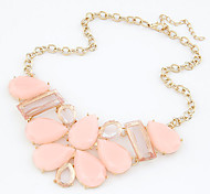 Fashion Korea Sweet Summer Feelings Geometric Statement Necklace