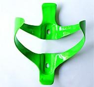 Gaiola garrafa NT-BC1009 Ciclismo 3K Weave da fibra do carbono (verde)
