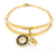 bracelets d'inspiration mode chaîne en acier inoxydable 316L pendentif bracelet
