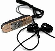 clip-on estéreo bluetooth v3.0 + EDR fone de ouvido para iphone 6/6 mais (ouro)