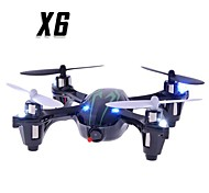 Camera X6 2.4G 4CH RC Quadcopter addebbitato and Light Green