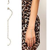 shixin® braccialetto d'avorio imitazione perla di fascino 18 centimetri femminile (1 pc)