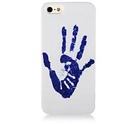 Bule Palm Stampa caso modello morbido silicone per iPhone4/4S
