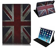 Elegant Design The Union Jack Pattern PU Leather Full Body Case with Stand for iPad Air