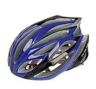 EPS FJQXZ Integralmente-moldados + PC Azul Ciclismo Capacetes (21 Vents)