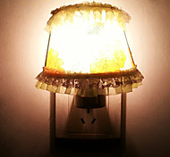 10W Yellow Lace Flower Cloth LED Night Light(AC110-240V)