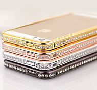Elegante decorado con marco de diamante para el iPhone 4/4S (colores surtidos)