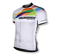 SPAKCT® Cycling Jersey Men's Short Sleeve Bike Breathable / Quick Dry / Front Zipper / Wearable / YKK Zipper Jersey / Tops 100% Polyester
