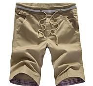 мужская повседневная брюки (согласно случайной, резинки строка цвет случайный)