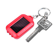 ABS Solar Rechargeable Portable LED Flashlight(Random Color)